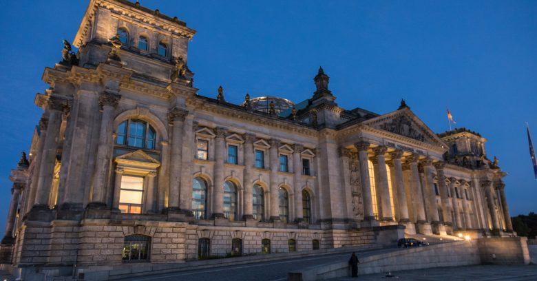 Palais du Reichstag, Berlin, Allemagne
