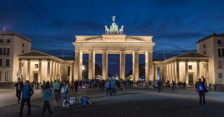 Porte de Bradebourg, Berlin, Allemagne