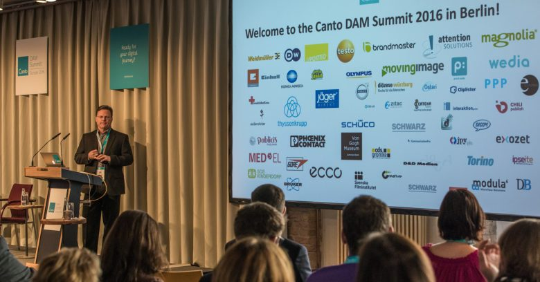 "M. Jack Mc Gannon CEO de Canto pour le ""Dam Summit Kickoff"" Dam Summit, Day1, Berlin, Allemagne"