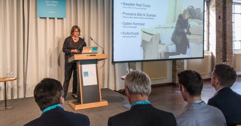 Présentation de Mme Karin Tengby de Swedish Red Cross au Dam Summit, Day1, Berlin, Allemagne
